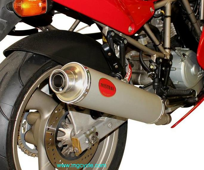 Mistral aluminum round Ducati 900SS 750SS