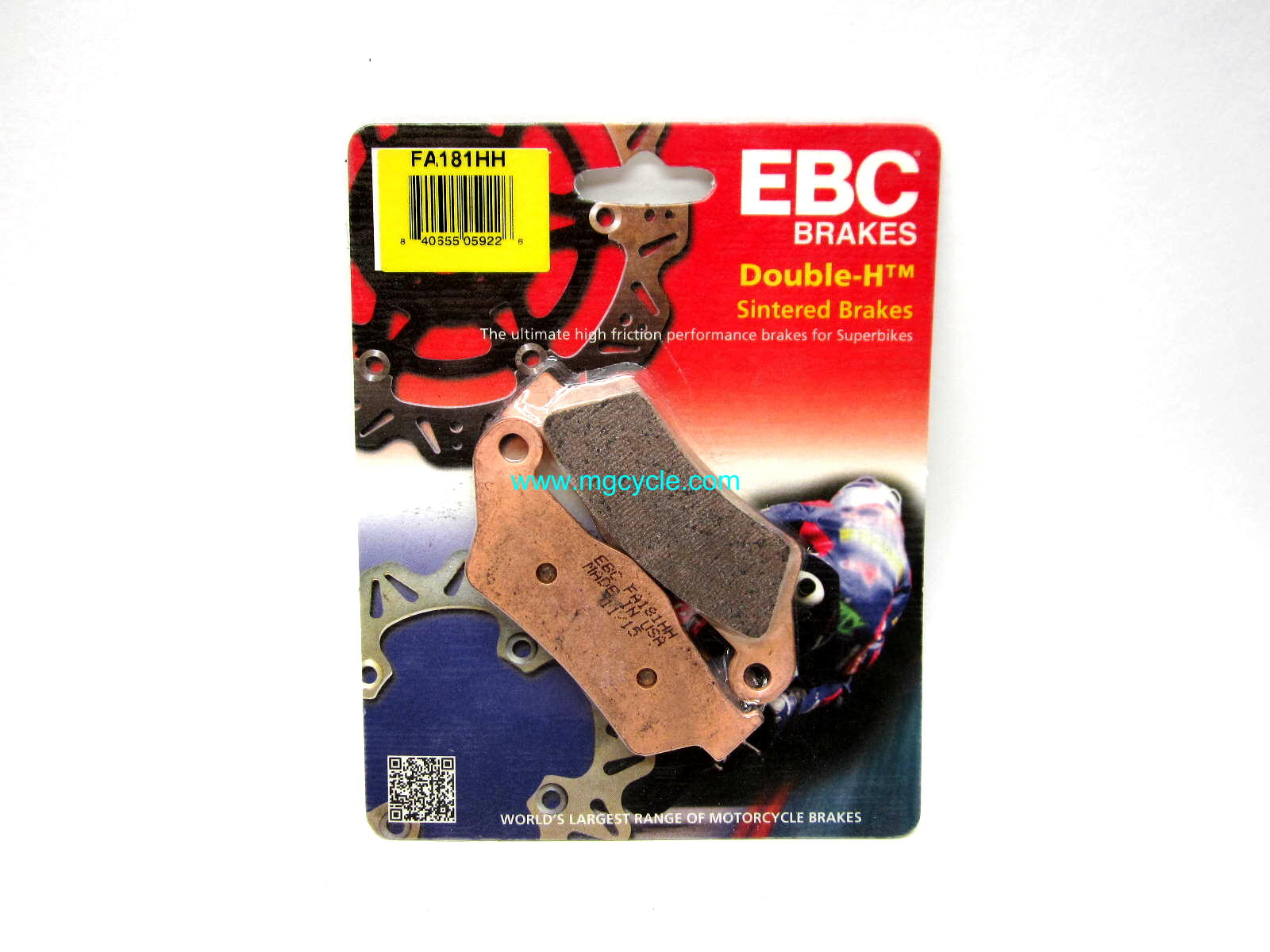 EBC sintered rear brake pad set all CARC models