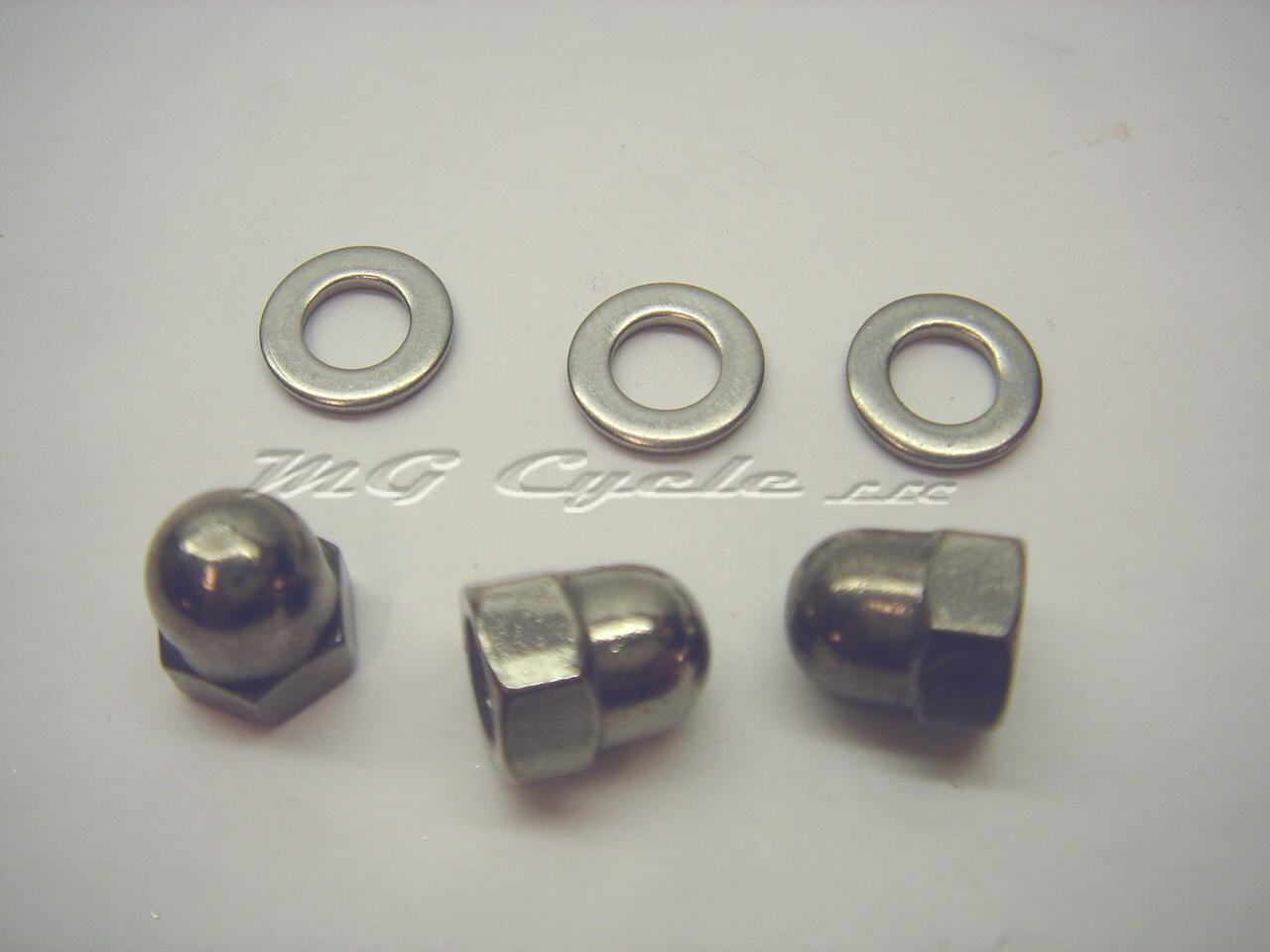 Stainless Eldorado Ambassador twin instrument dash fastener kit