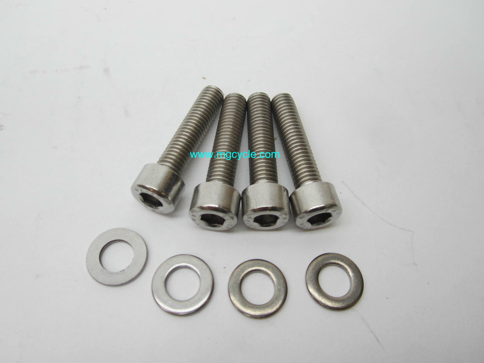 Stainless Tonti frame handlebar bar clamp bolts