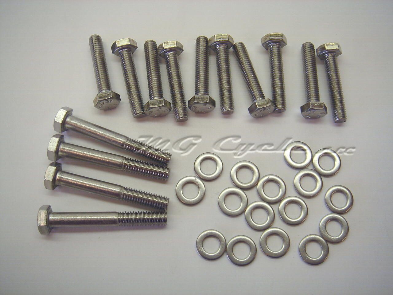 stainless bolt kit V700 Ambassador Eldorado front engine cover