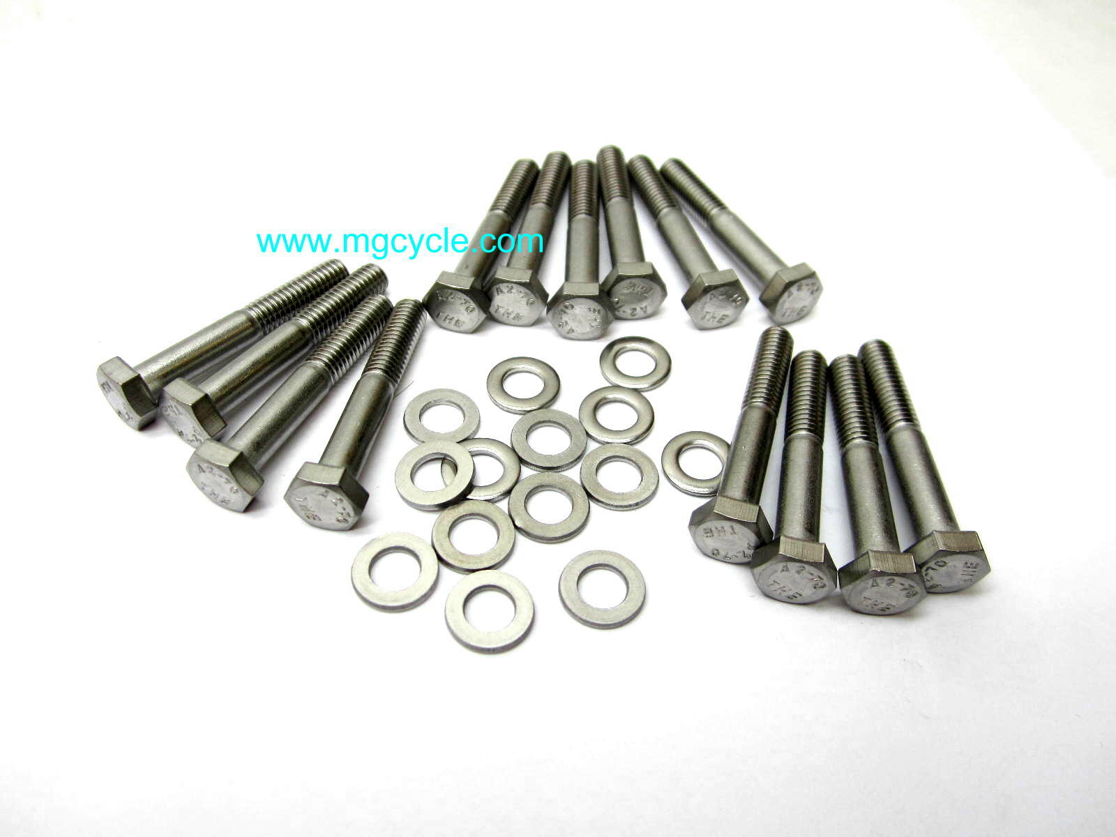 stainless oil pan bolt kit for V700, V7 Sport, 850T