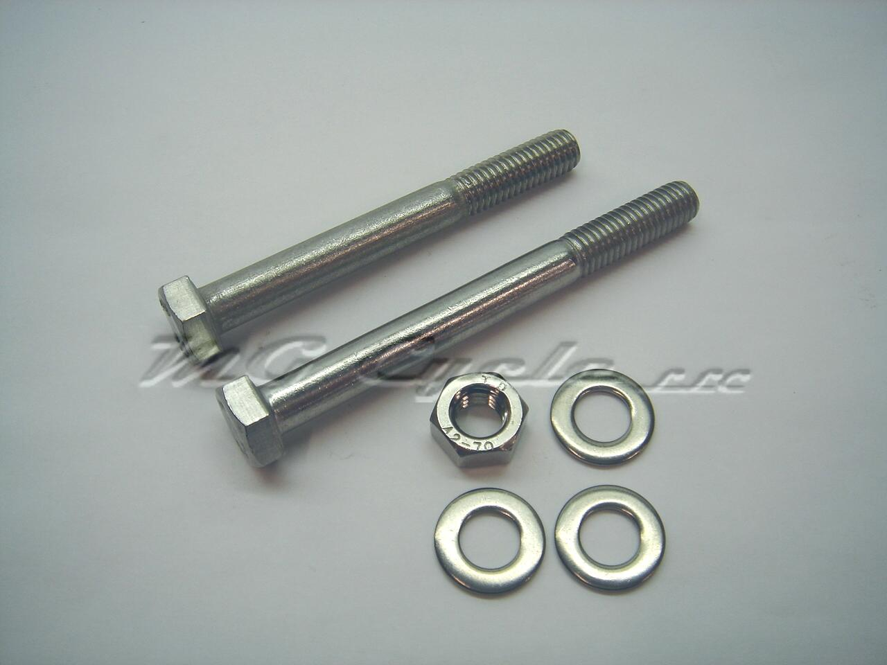 Stainless starter motor bolt kit for Bosch and Marelli starters