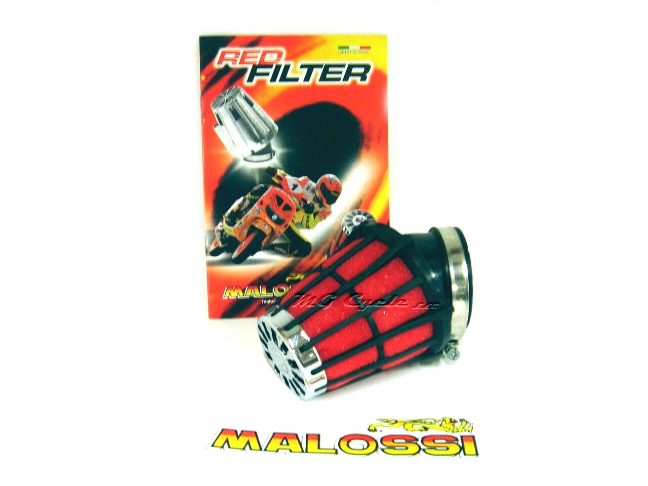 Malossi foam air filter for PHF36 and PHF30 carburetors