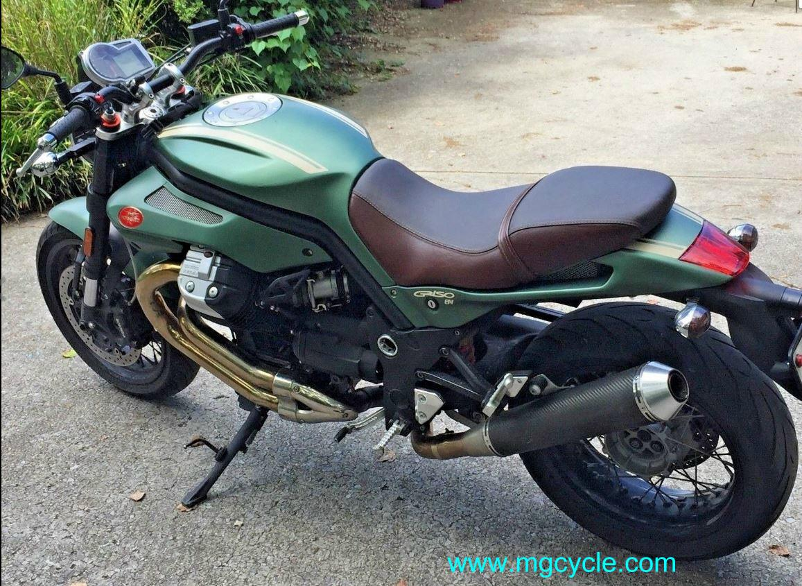 exhaust : MG Cycle, Moto Guzzi Parts and Accessories available