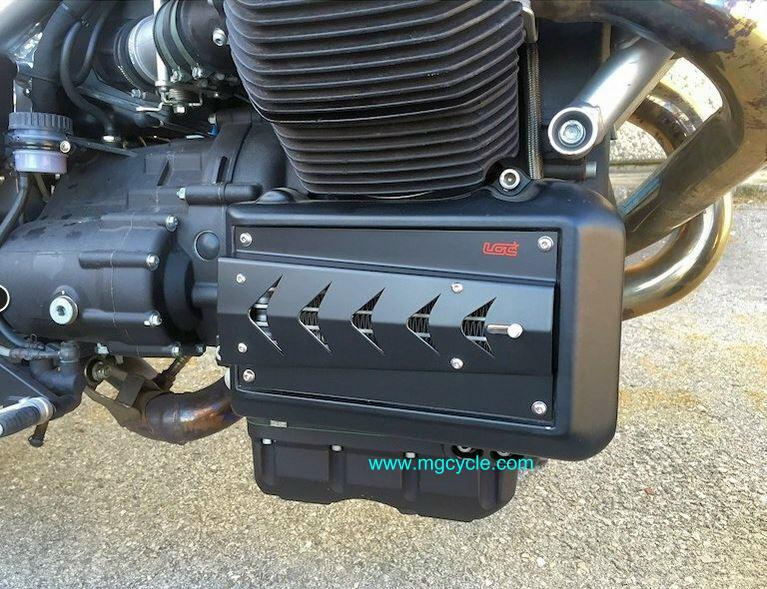 LGC adjustable radiator/oil cooler cover, Griso, Griso 8V - Click Image to Close