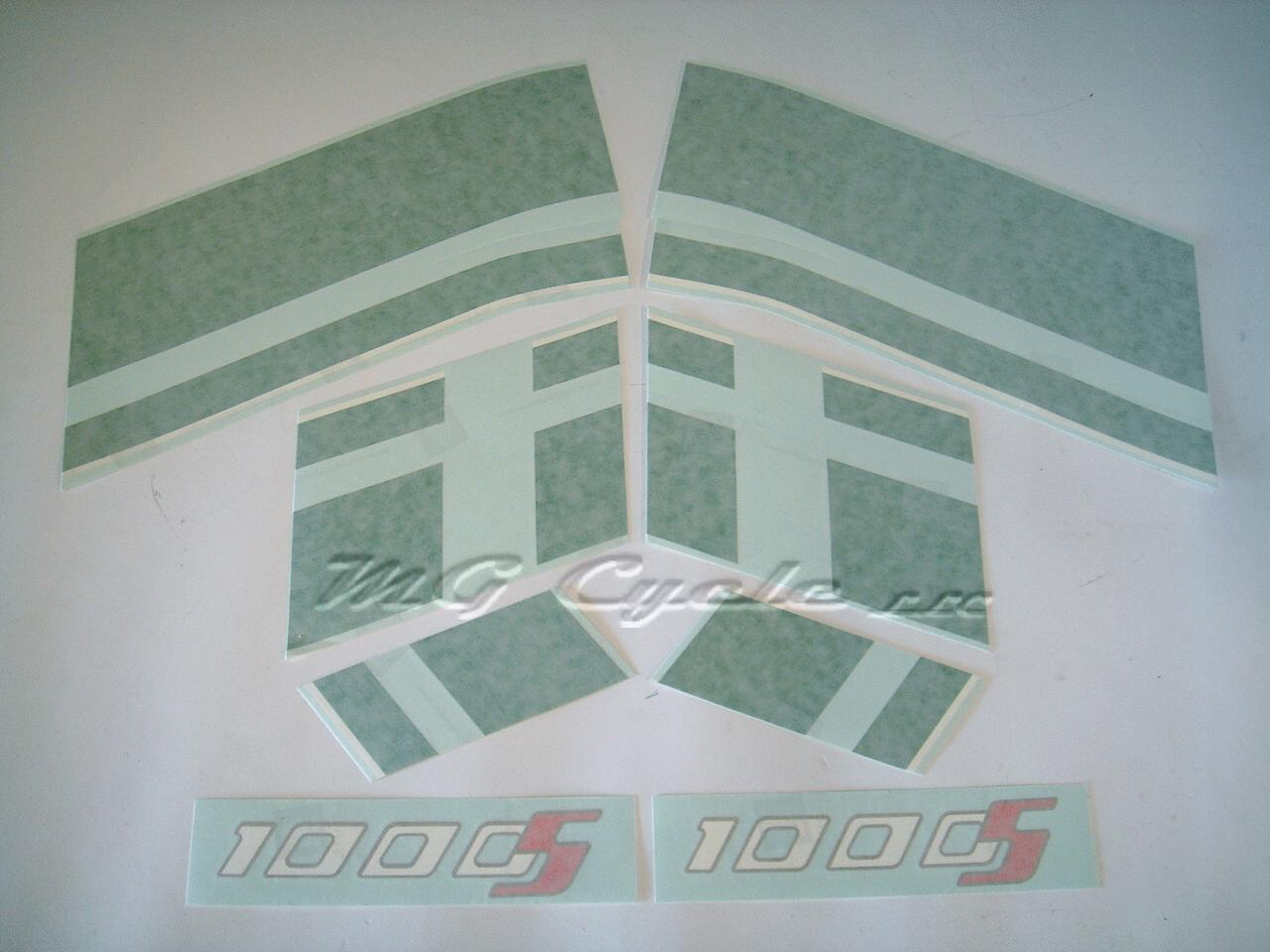 Decal set 1000S, green