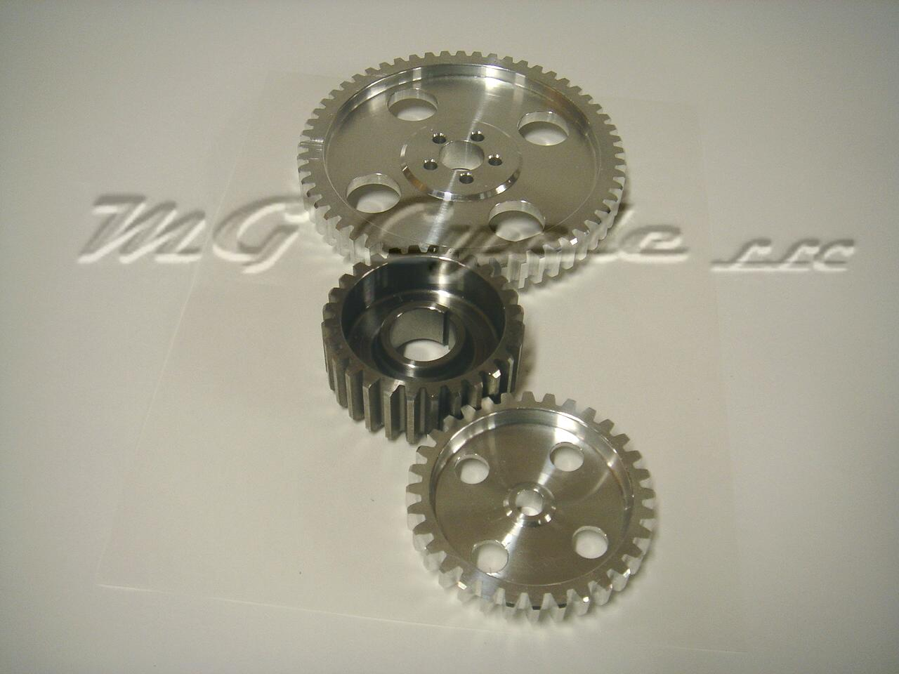 timing gear set straight cut steel driving gear Special Order
