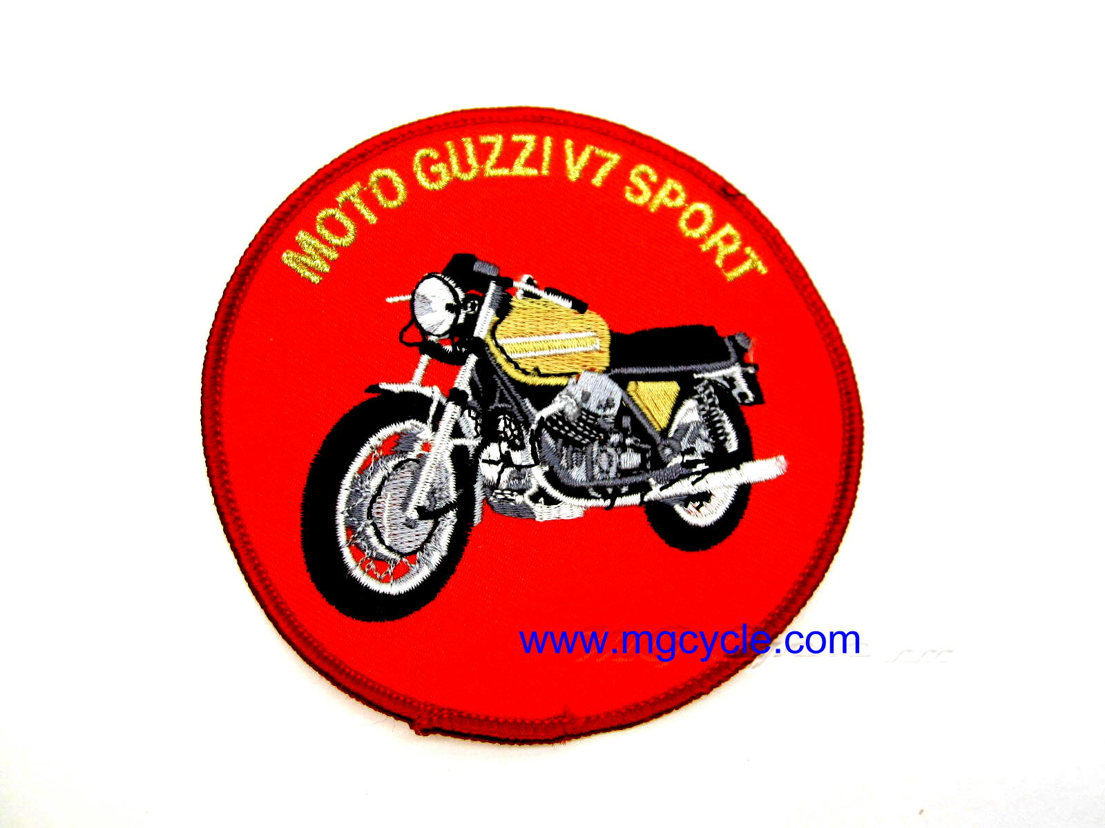 Moto Guzzi Riders 3 Coloured Rectangle Logo Badge Lapel Pin