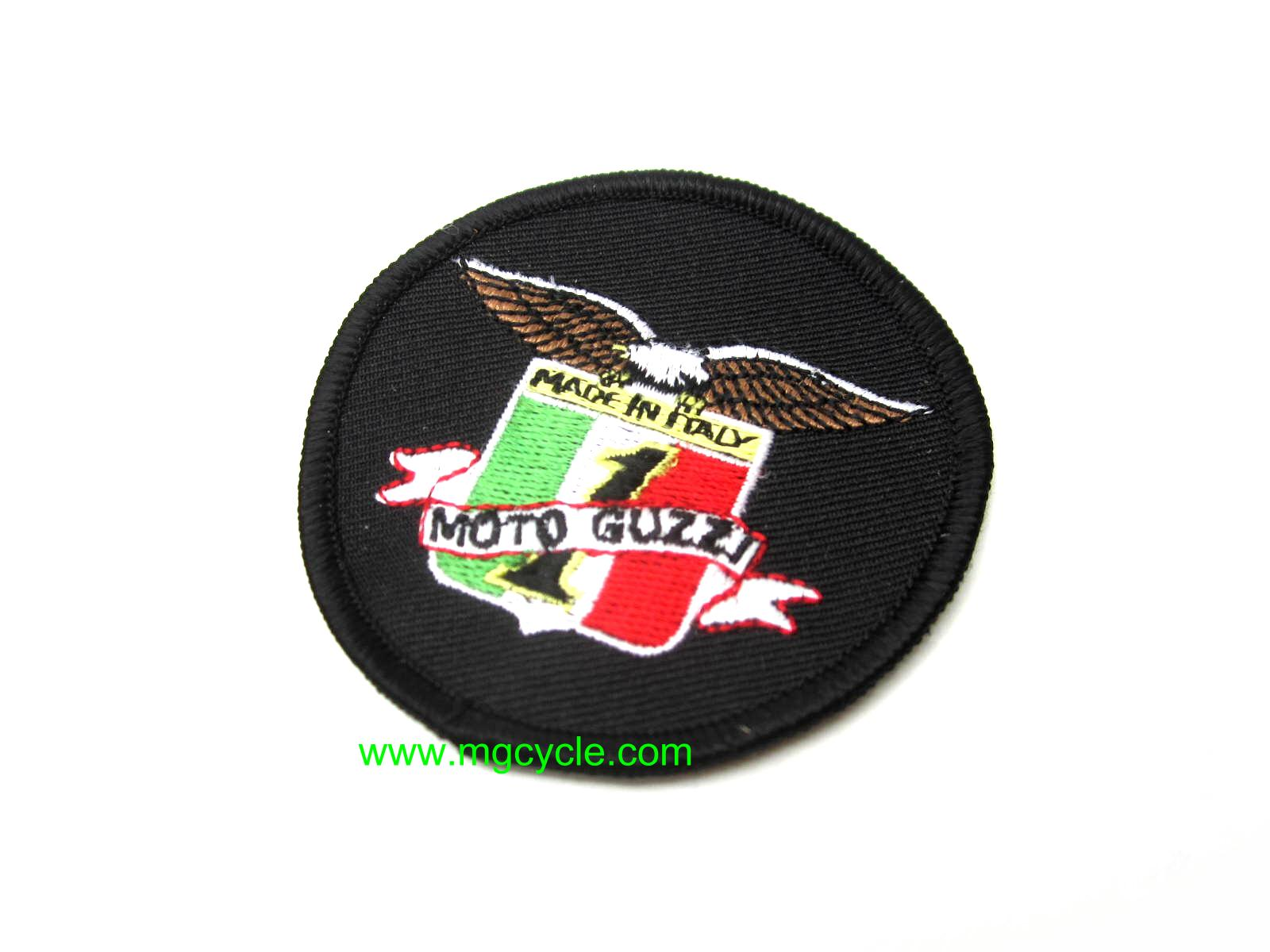 """Made in Italy, Moto Guzzi #1"" patch"