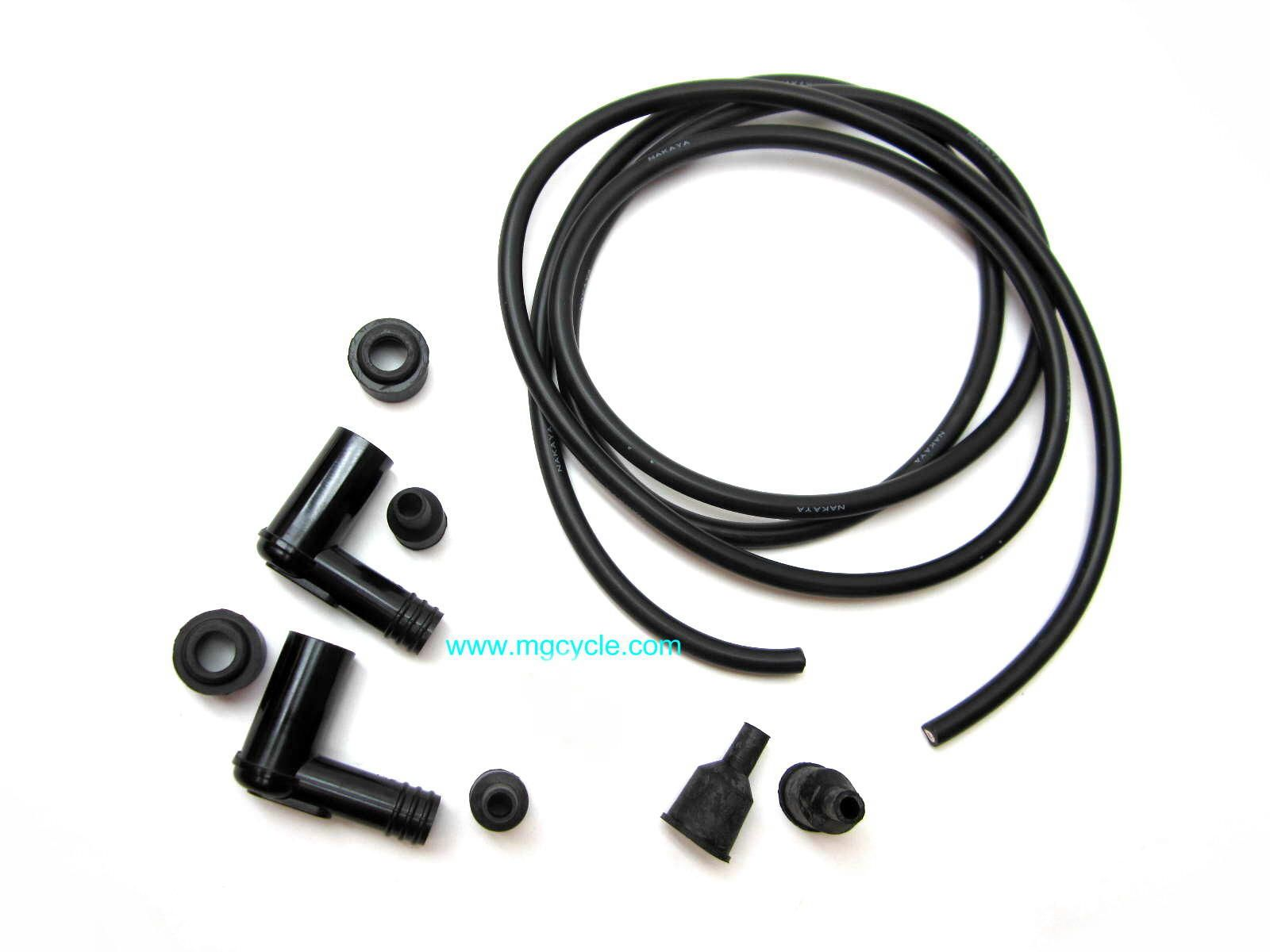 Universal spark plug wire kit for dual coil models