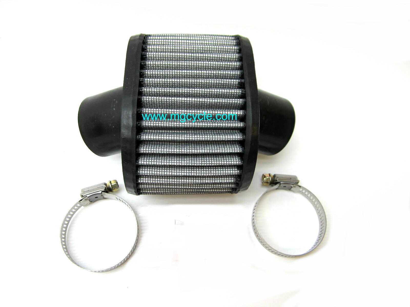 K&N air filter, VHB carbs with straight stacks