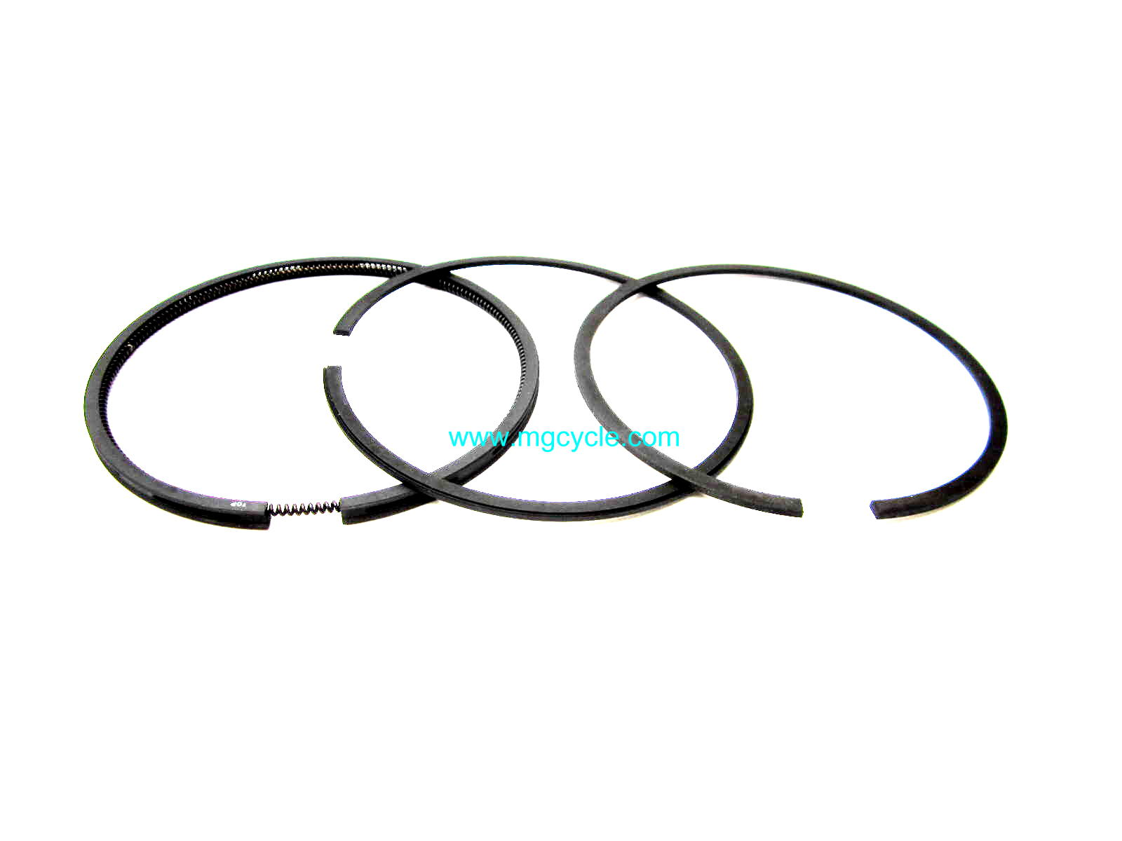 3 ring piston ring set, for 88mm bores