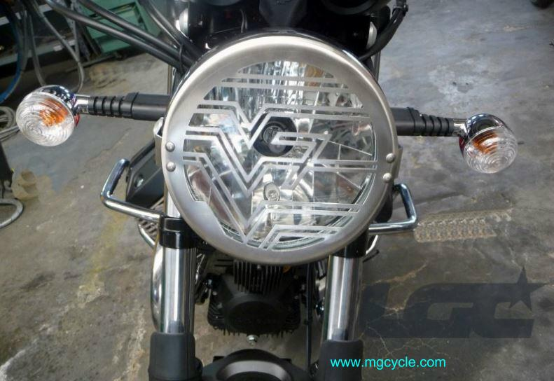 headlight guard V7 series: Stone Classic Racer Special