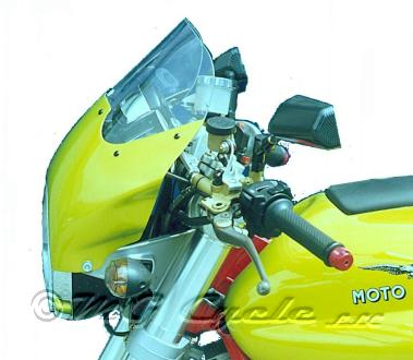 Fairing, V11 Sport, lime green, with screen and hardware