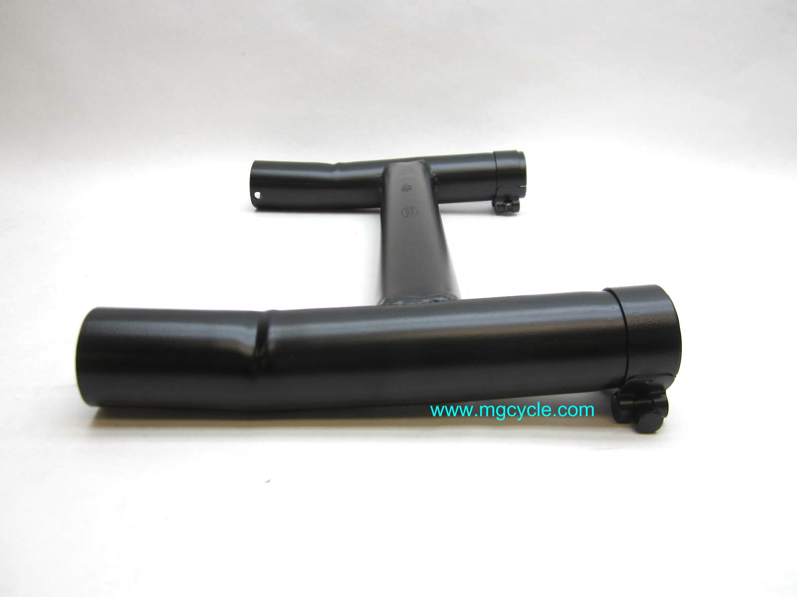 Black Mistral stainless exhaust crossover LeMans 1000. 1000S