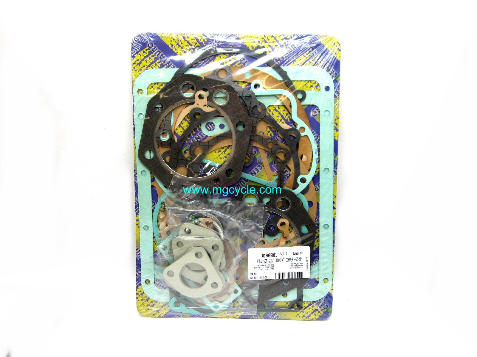 CLEARANCE Gasket set SP, G5, Convert, CX complete, 88mm round