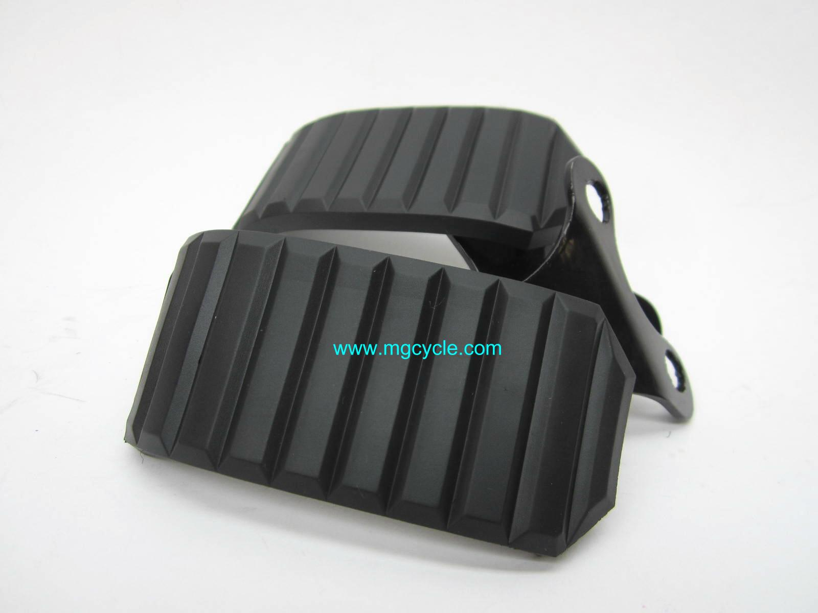 Knee guard pair, round fins with VHB 14941450 14941050