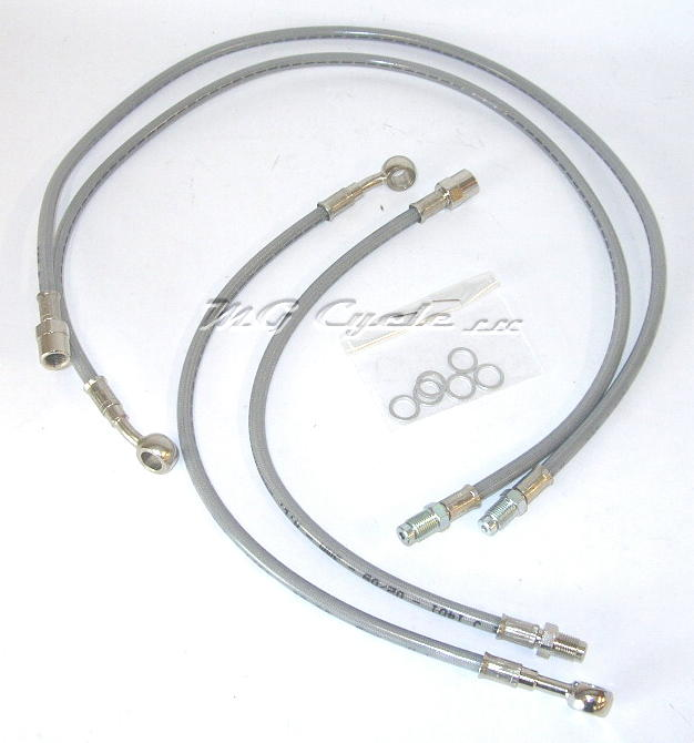 Stainless brake line kit LeMans III 1983-1984