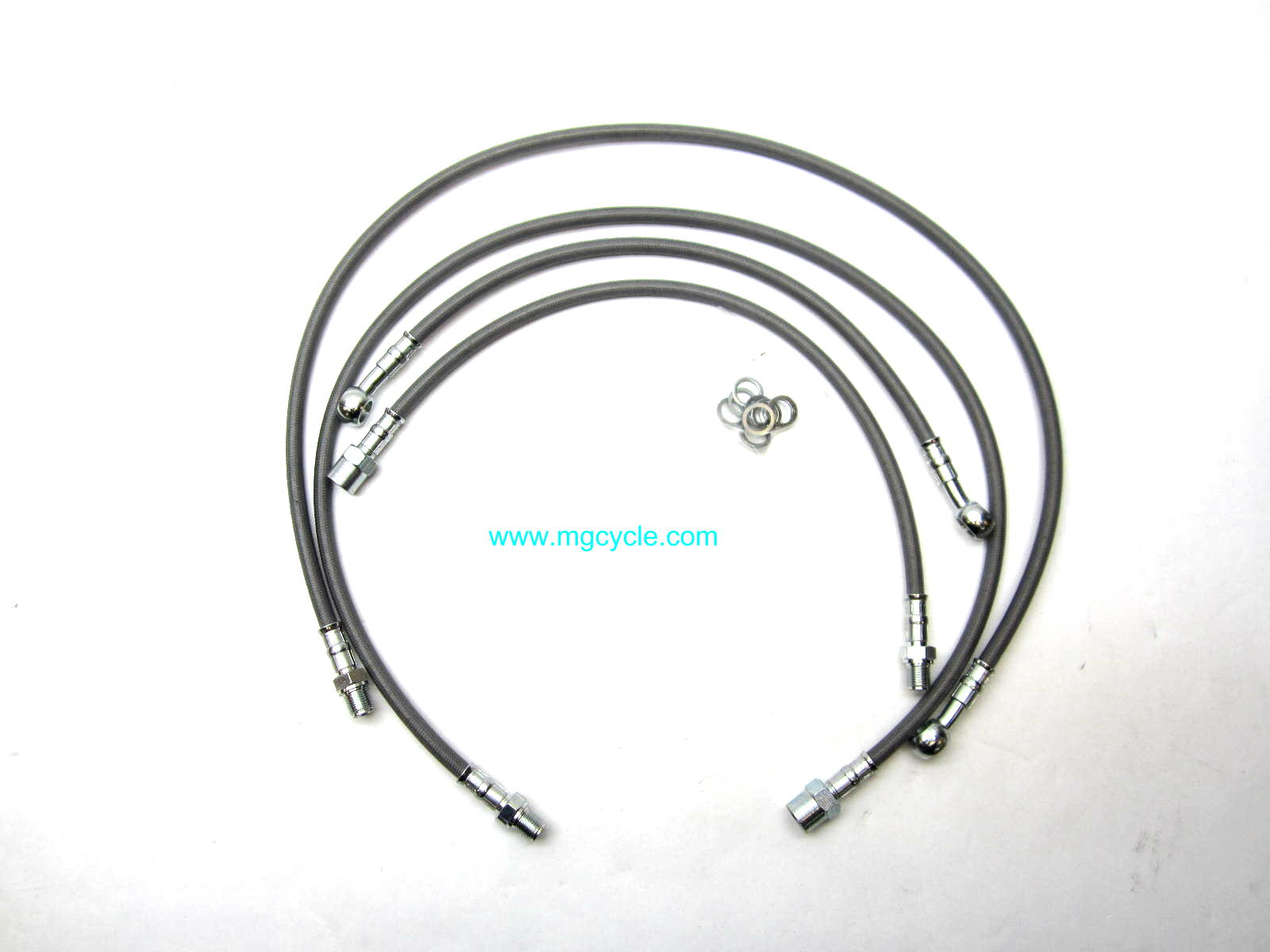 Stainless brake hose kit LeMans II, CX100