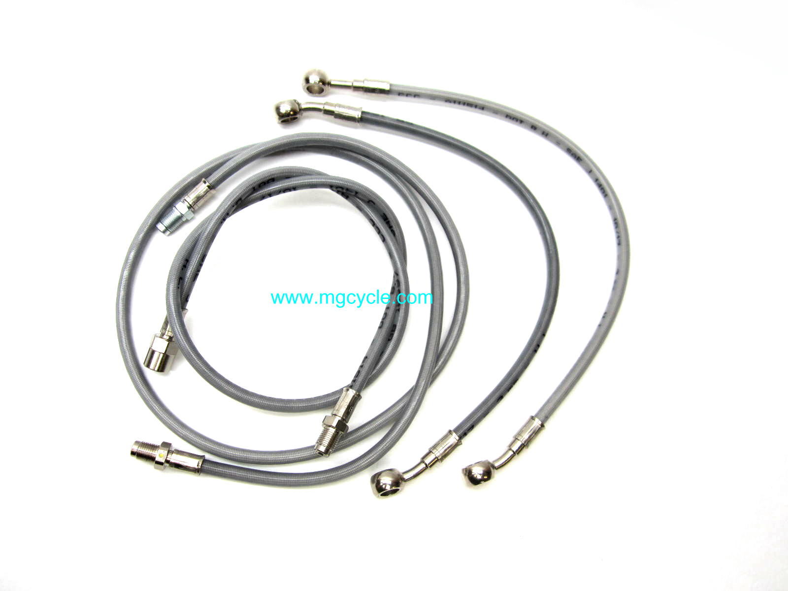 Stainless brake line kit for California III
