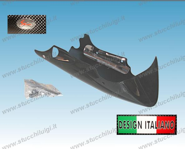 chin spoiler belly pan, Griso 2008 & later 4V, 8V, carbon fiber