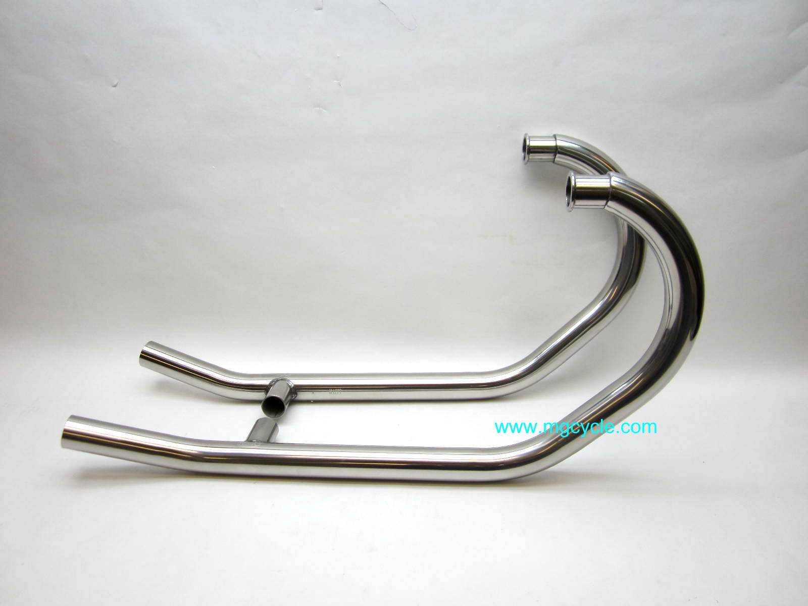 Mistral polished headers, V7 Classic, Stone, Special 2008-2012