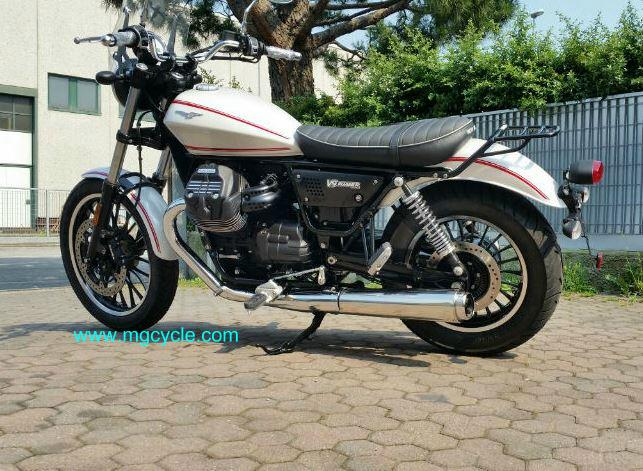 Sale: Mistral V9 Slip-on mufflers, for Bobber and Roamer