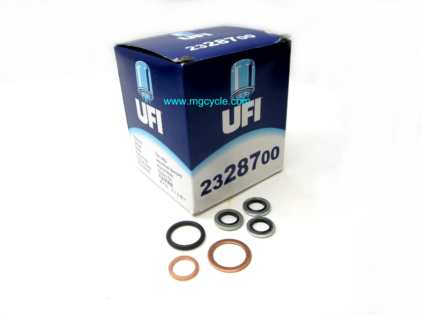 UFI oil change kit for CARC series except '15 and later Griso 8V