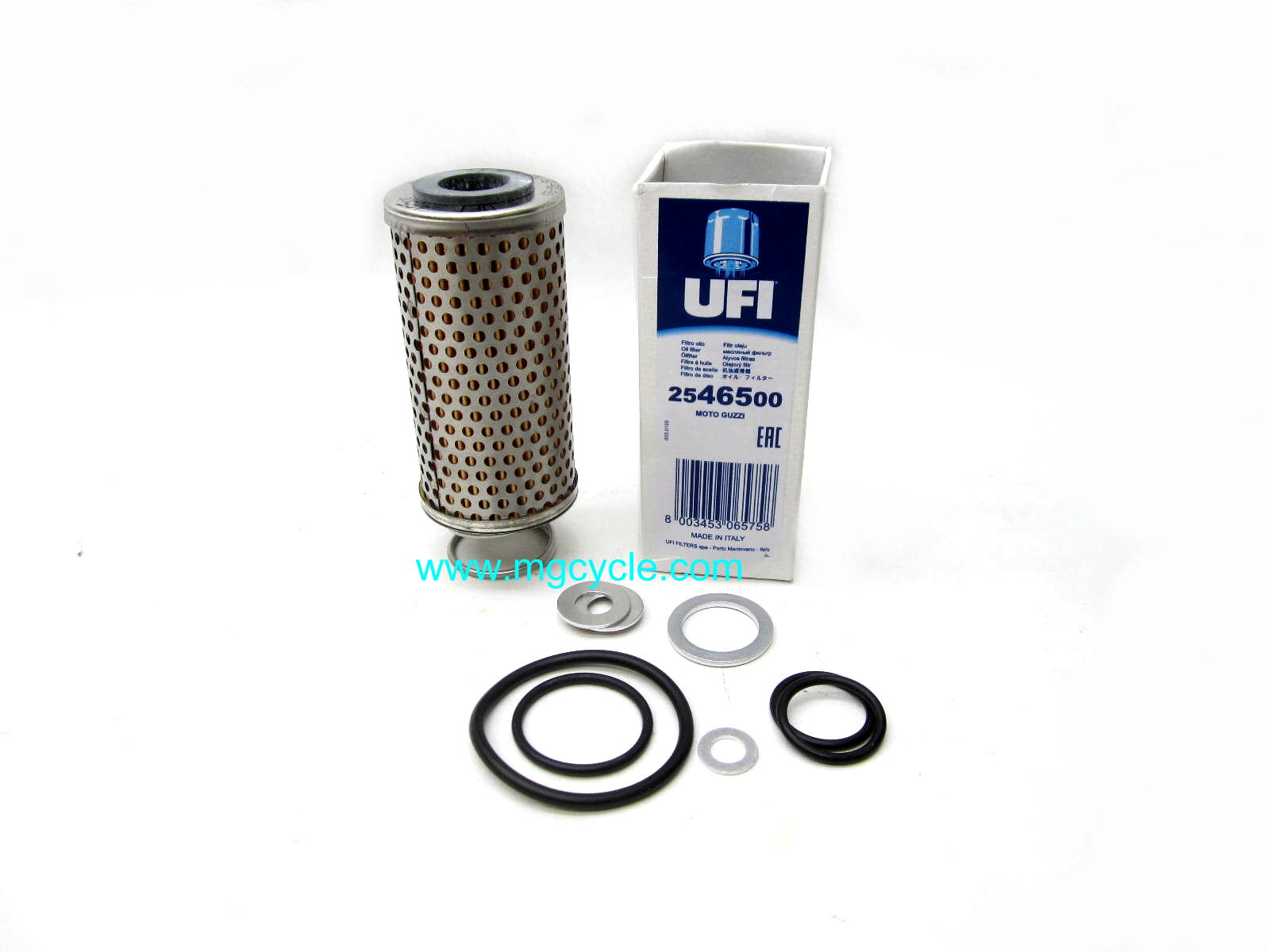Oil change kit for small twins V35, V50, V65