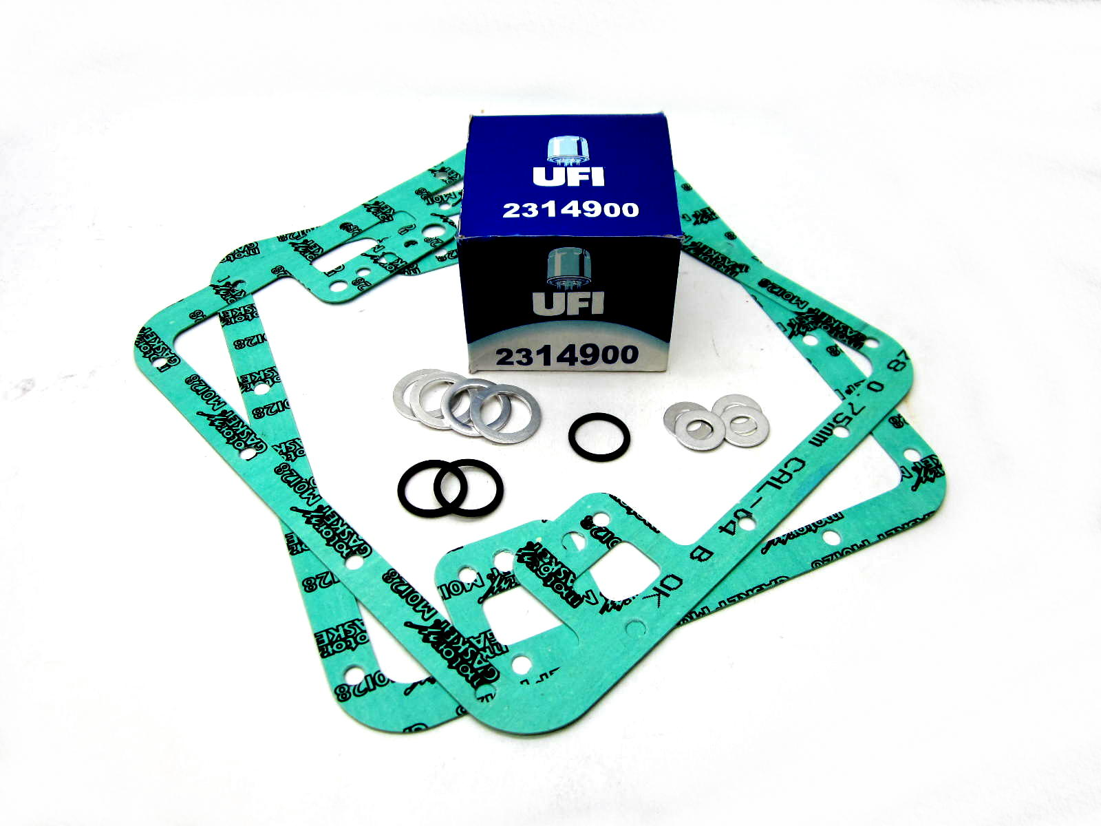 All fluids UFI oil change kit for 850-1000 big twins 1976-1993