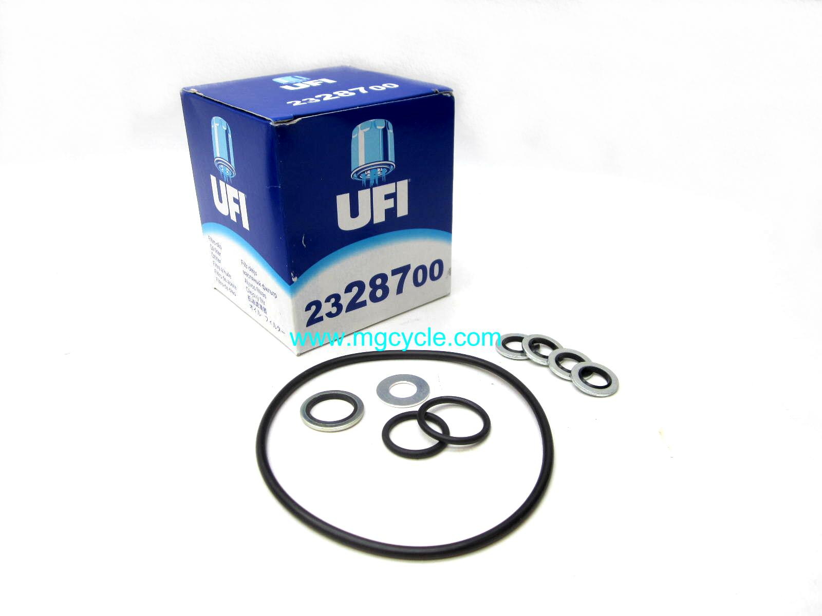 All fluids UFI oil change kit V11 Sport V11 LeMans Scura Tenni