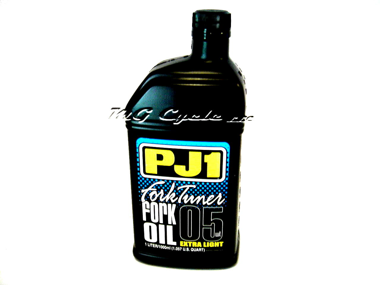 PJ1 Fork Tuner fork oil 5W extra light, 1 liter bottle
