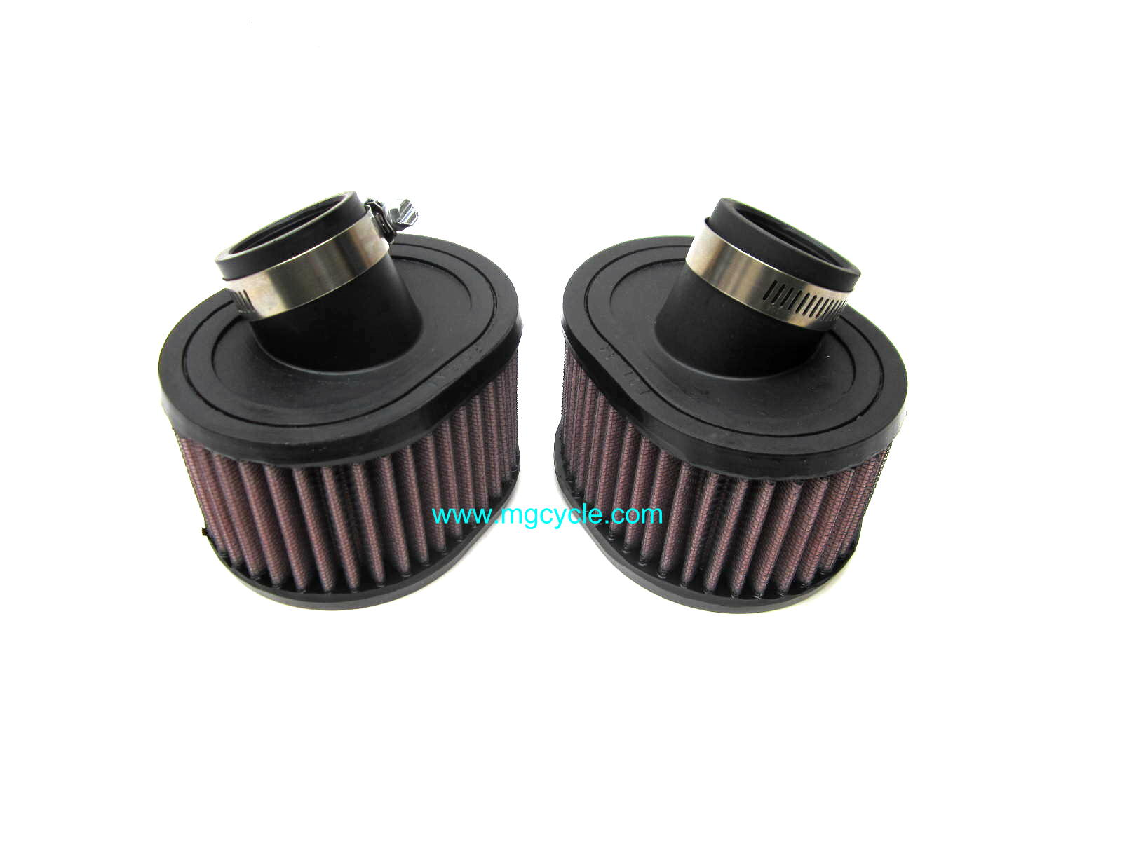 K&N air filter, VHB carbs without stacks, pair