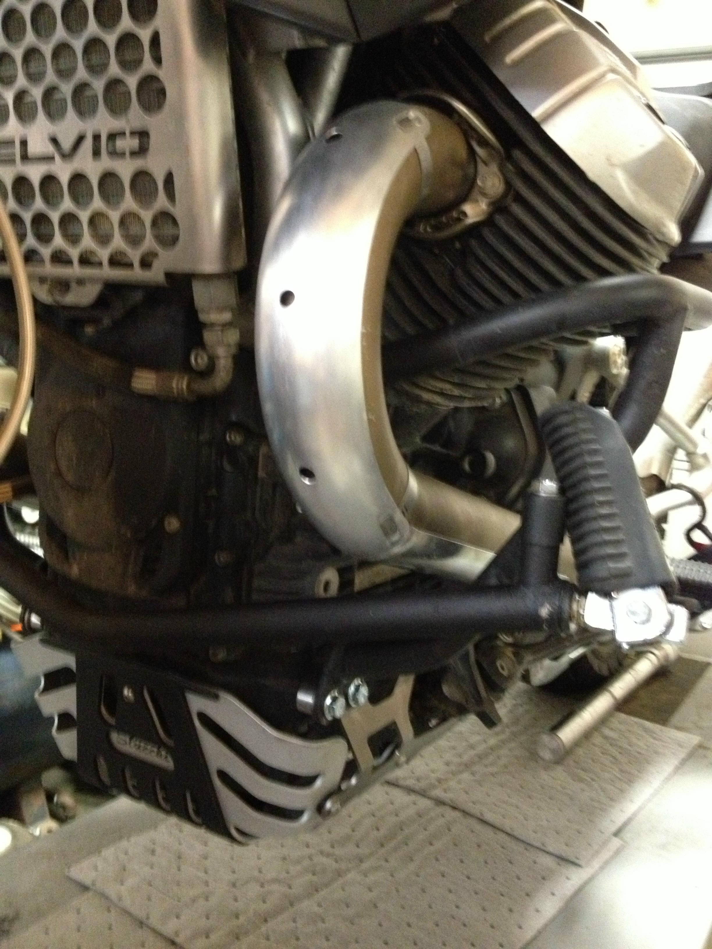 Skid Plate Engine Sump Protection for Stelvio 1200 - Click Image to Close