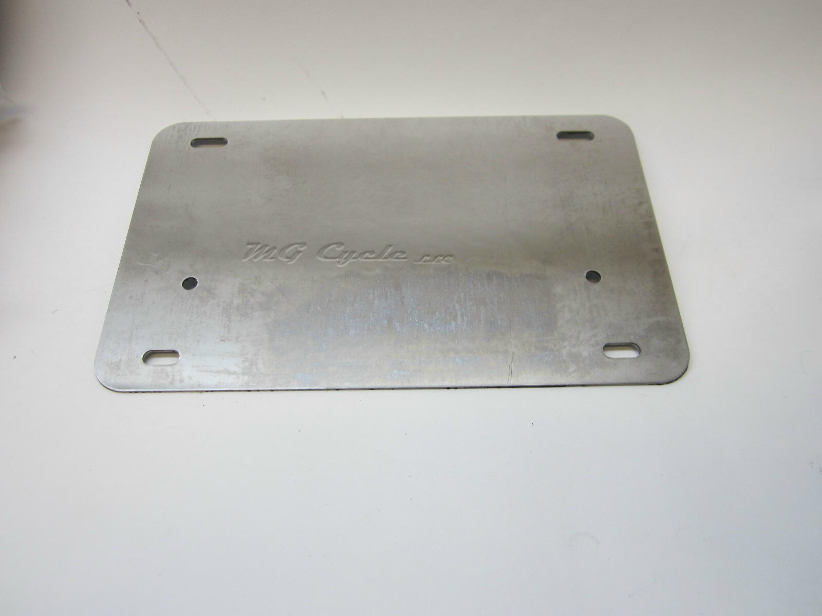 License plate backing plate, fits 5x8