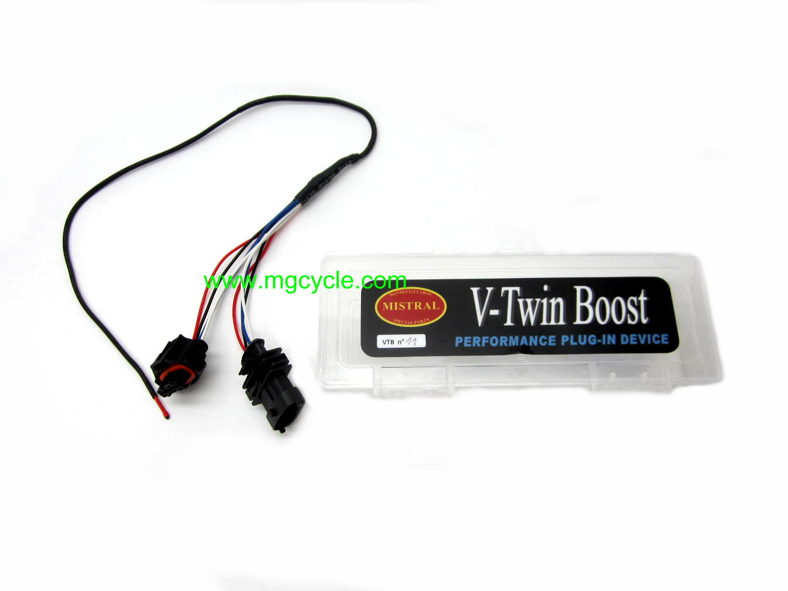 Mistral V-TWINBOOST11 fuel injection trim module, V85TT MG-VTB11