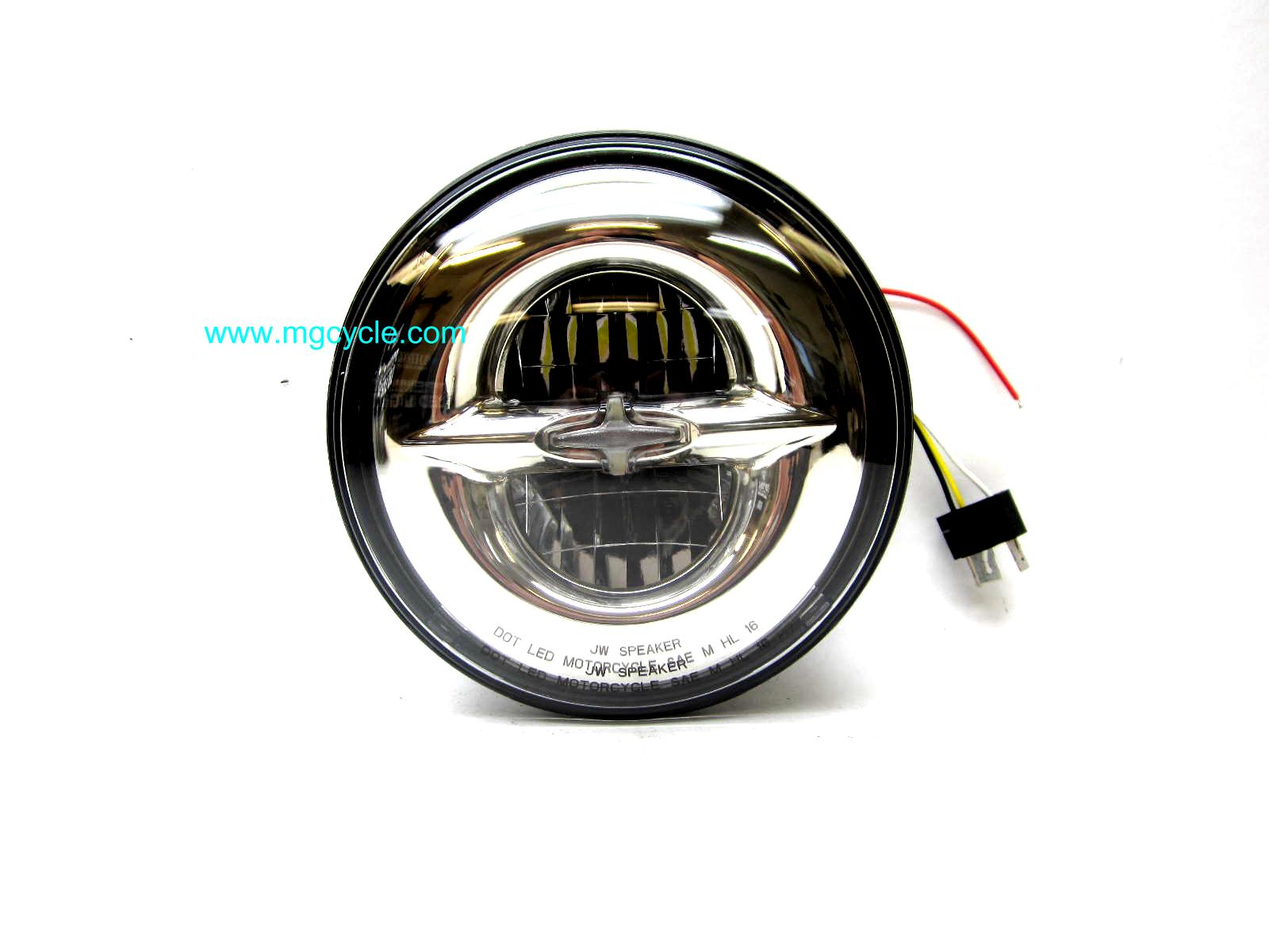 7 inch LED headlight 55/60 watt equivalent