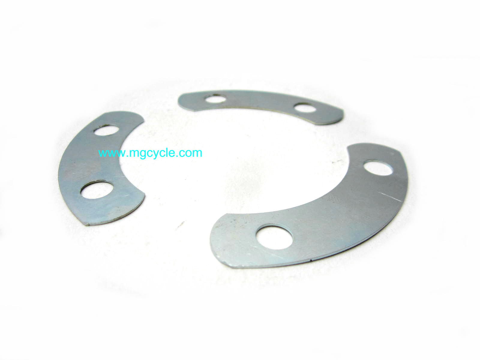 Fold over lock plate set front main bearing, early big twins