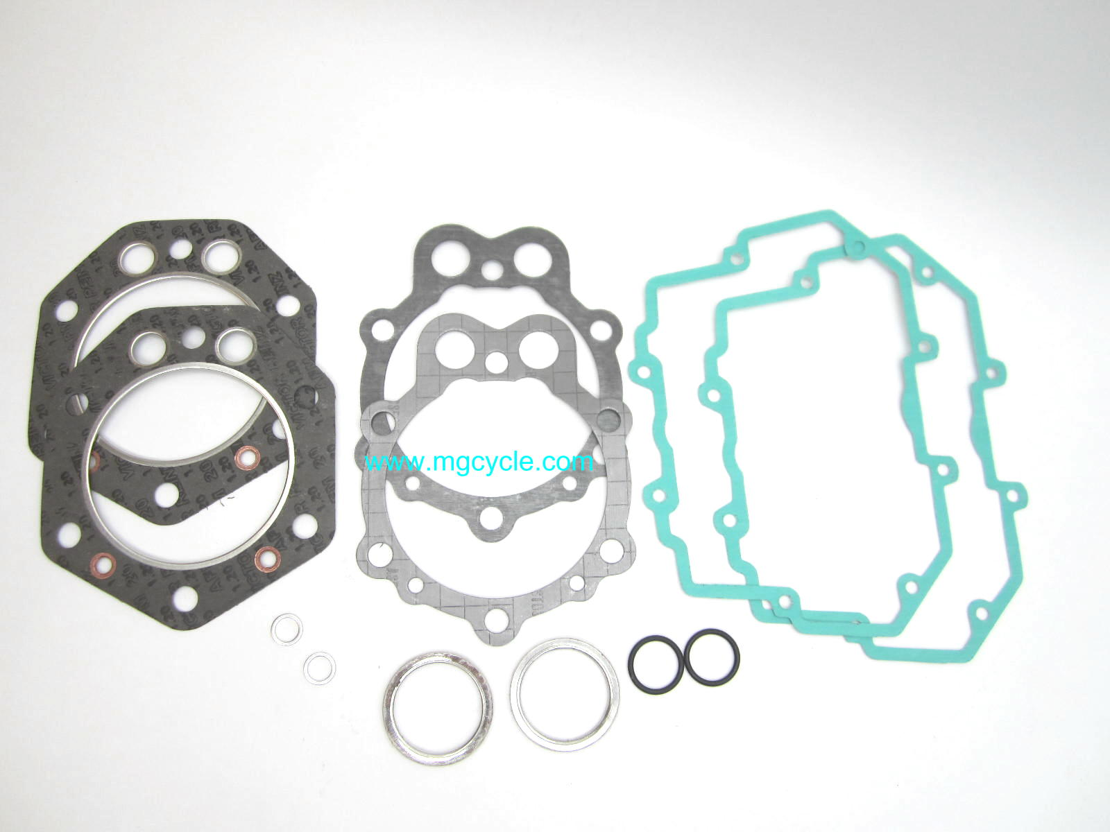 Top end engine gasket set for 1000cc 88mm square heads 1984-1993