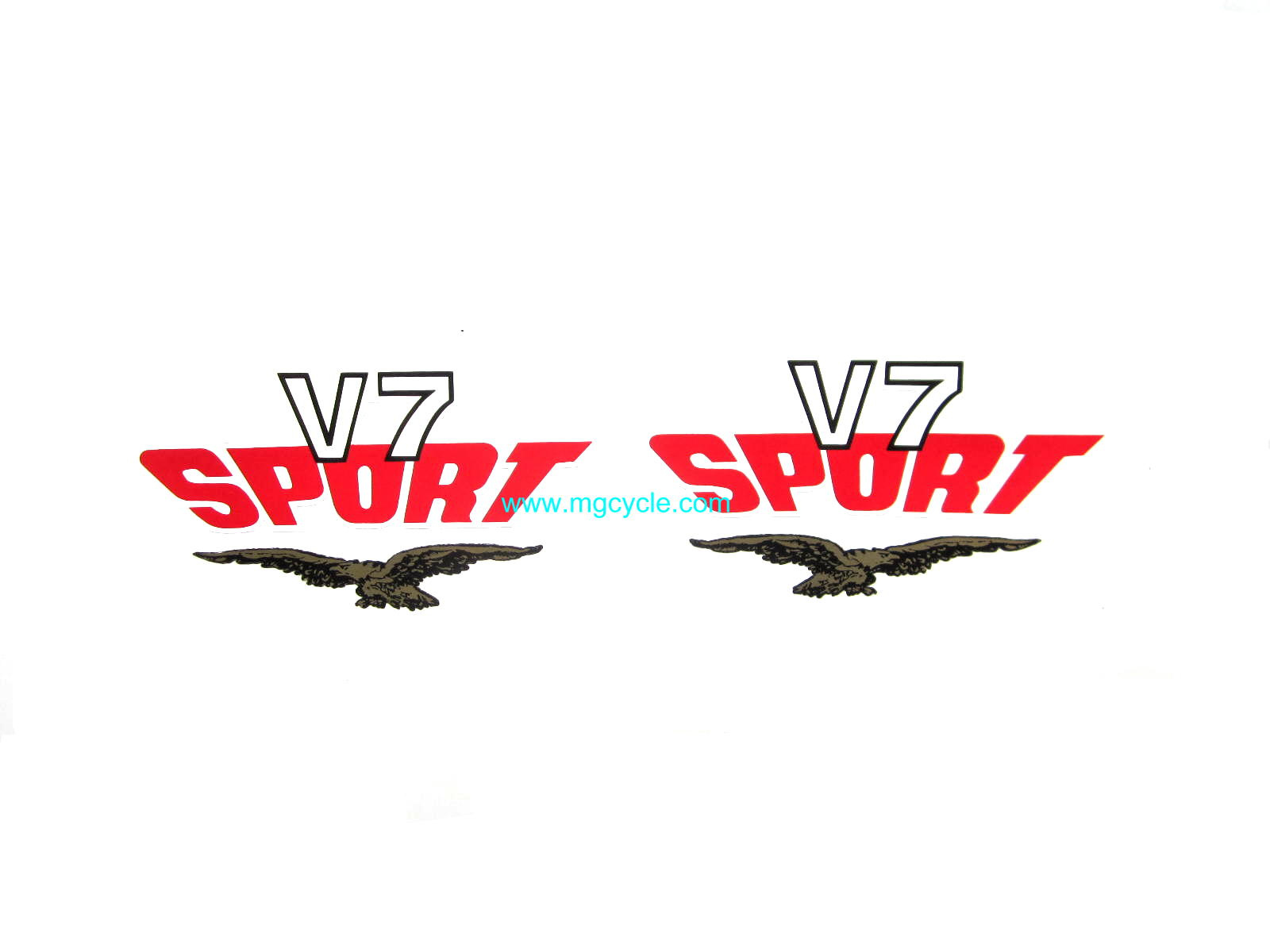 Tool box decal pair, V7 Sport