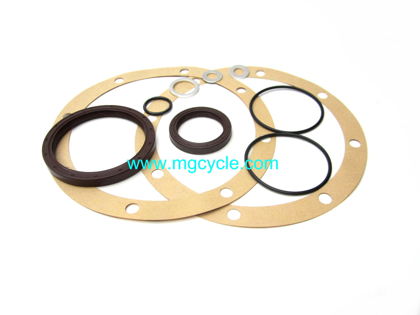 Final drive seal kit for rear disk brake twin shock big twins