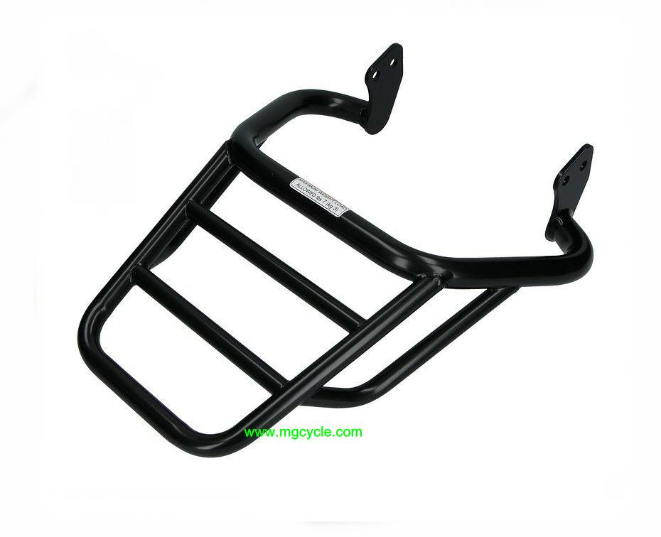 small black luggage rack for select V7 III models