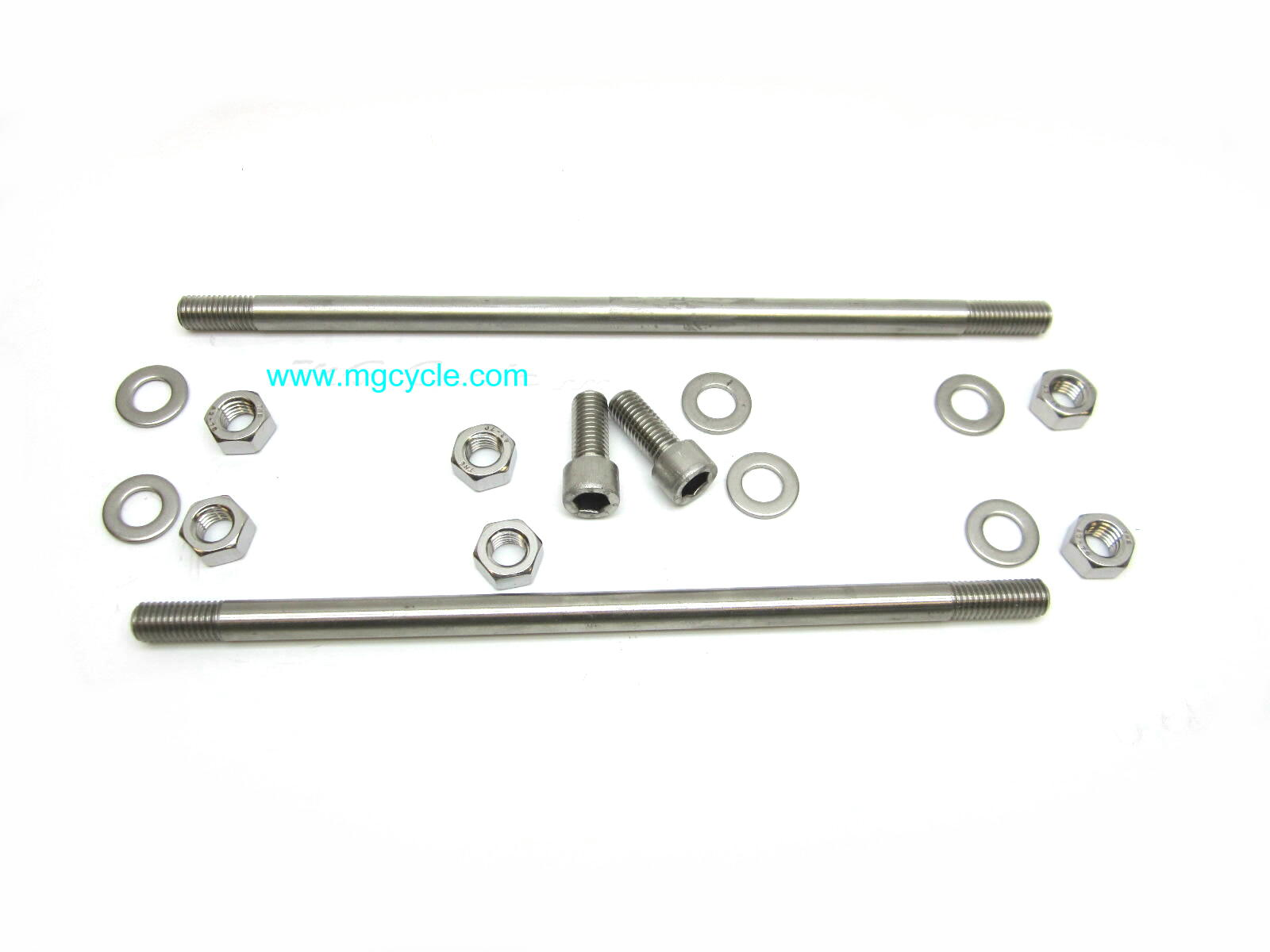 Stainless steel engine mounting kit