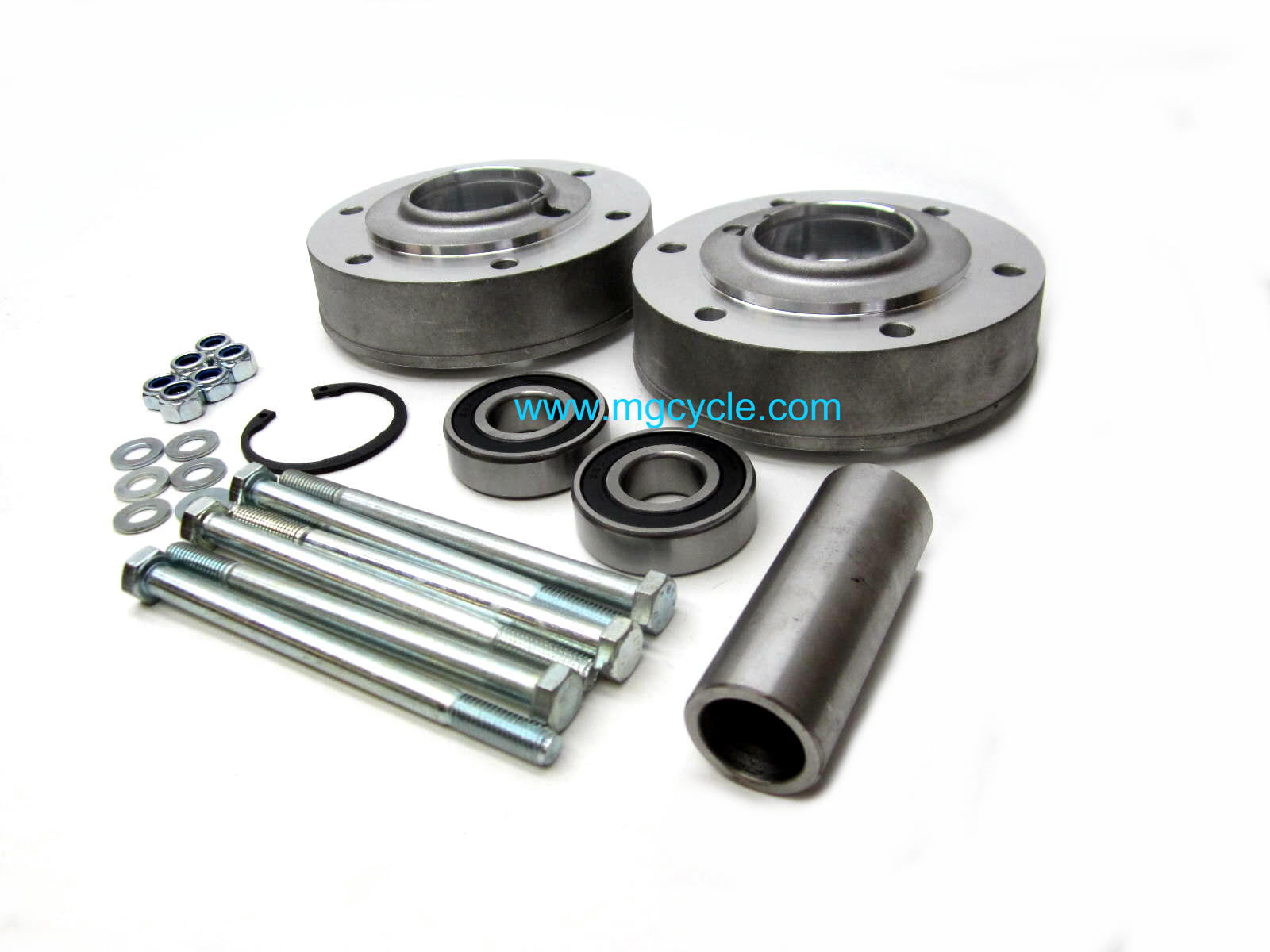 brake flange & wheel bearing carrier kit, narrow: V7 Sport, 750S