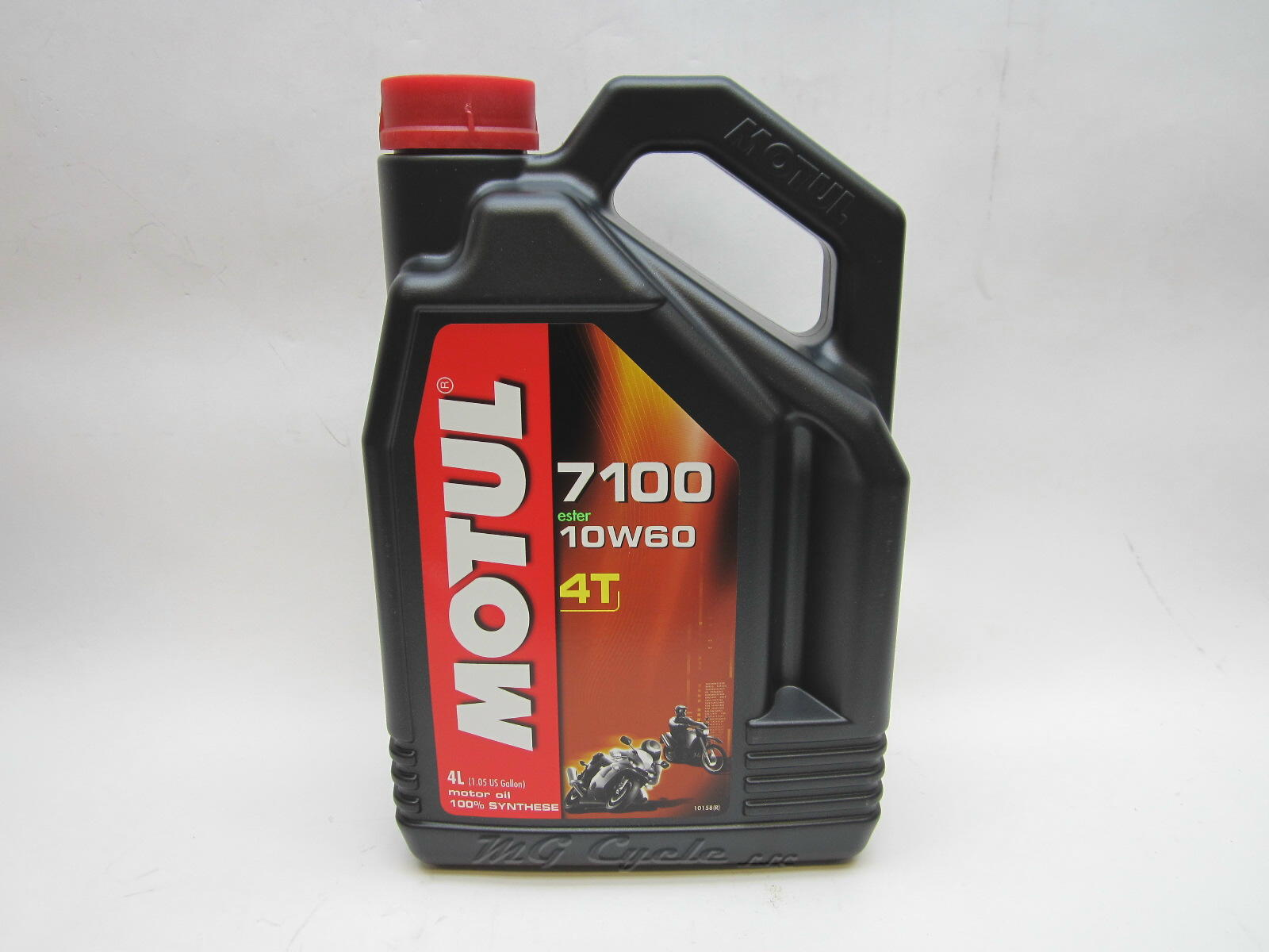 4 Liter Motul 7100 4T 10W60 synthetic ester motor oil