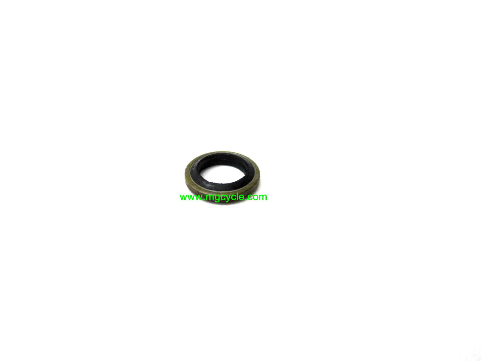 rubber center sealing washer 6mm fork drain, fuel inlet etc 6x10