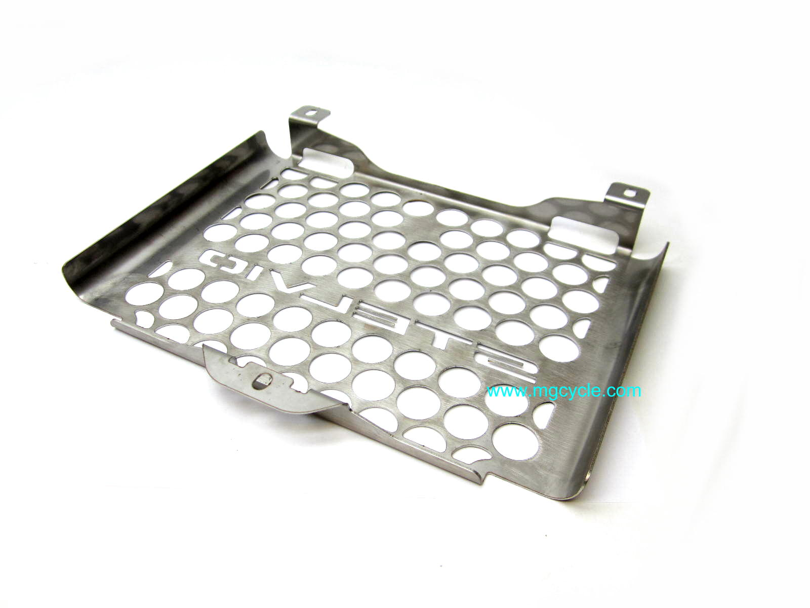 Stainless oil cooler cover, Stelvio NTX 2011-2015