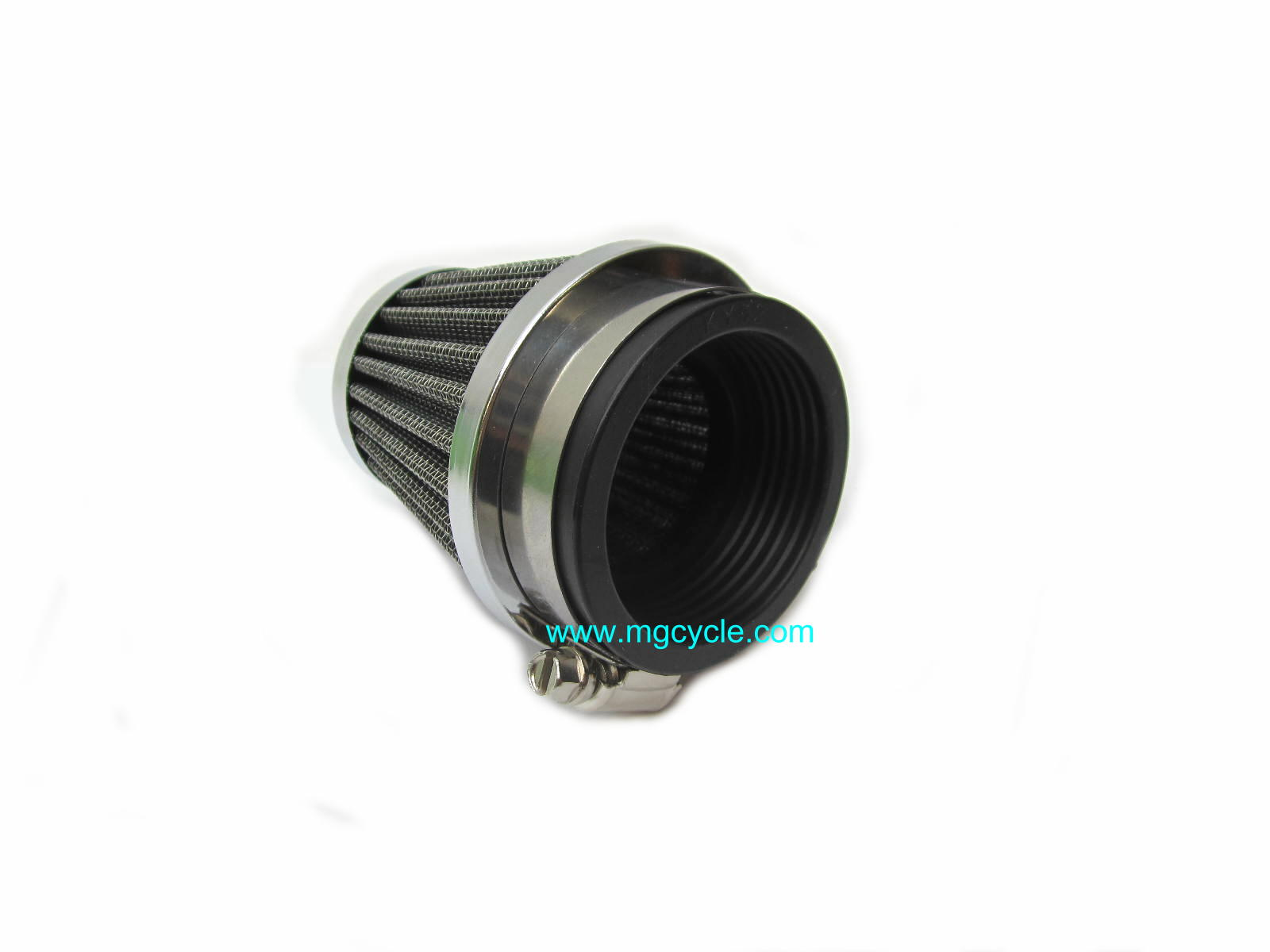 conical air filter pod for PHM38 and PHM40 carburetors